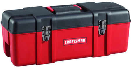 Craftsman 26 in Plastic Hand Box Fargo Shopping