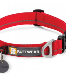 Ruffwear Hoopie Collar Red Medium