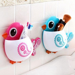 Lovely Bird Storage Organizer with suction cups 3