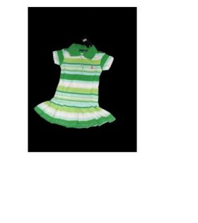 Polo Green Stripped Dress