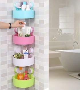 Set of 4 Bathroom Caddy organizer/ Shampoo Holder